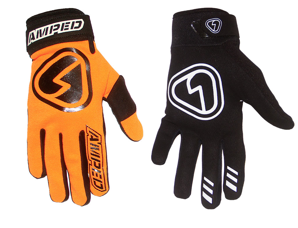 Amped Symbol Riding Gloves